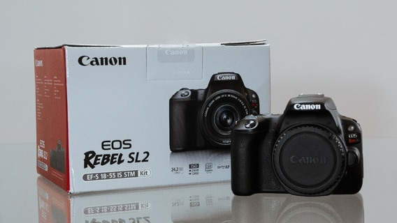 Canon Sl2 Com Lentes + Flash Yn600exrtii + Acessórios