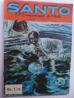 Santo, El Enmascarado De Plata Nro. 100 Comic En Físico