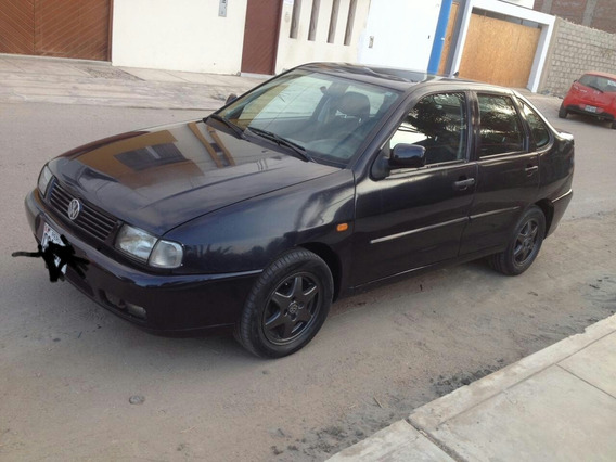 Volkswagen Polo1.6 De 1998 Azul 4 Puertas