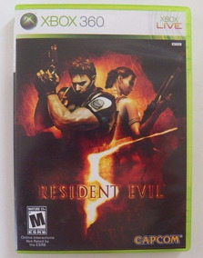 X-box 360: Resident Evil 5 Americano Completo!! Jogaço!!