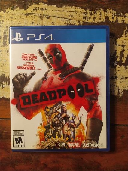 Deadpool Lacrado Ps4