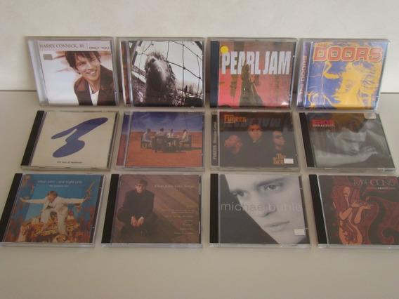 Lote 12 Cds - Elton John - New Order - The Doors - Maroon 5