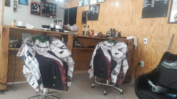 Capas De Corte Pra Barbearia/cabeleireiro Com Ziper Tactel
