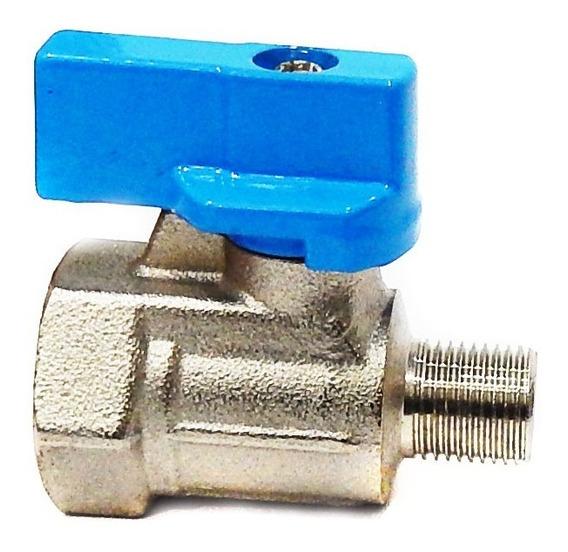 Válvula De Esfera Mini 1/8 M/f Steula Mmf-1/8