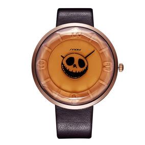 Reloj Casual 3d Correa Cuero Digital Reloj Caqui