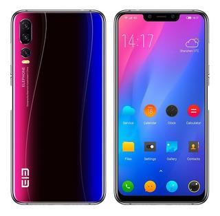 Teléfono Elephone A5 4g Con Muesca Y Pantalla De 6.18 In