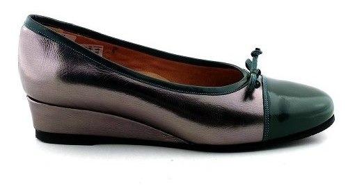 Chatita Mujer Cuero Mocasin Zapato Briganti - Mccha2905