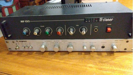Amplificador,mixer Staner Mp100,ñ Gradiente,ñ Cygnus, Ñ Cce