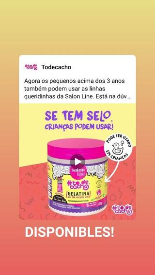Gelatina Salón Line Liberada Y Vegana. Antifrizz Y Volumen