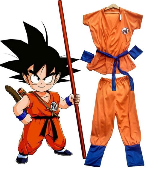Disfraz Goku Niños + Accesorios Dragon Ball R Comics