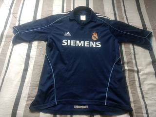 Camisa Real Madrid - adidas - Azul Marinho - 2005 2006 - G