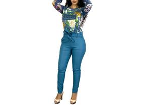Pantalón Dama Super Strech Milenium Moño Ajuste Cintura