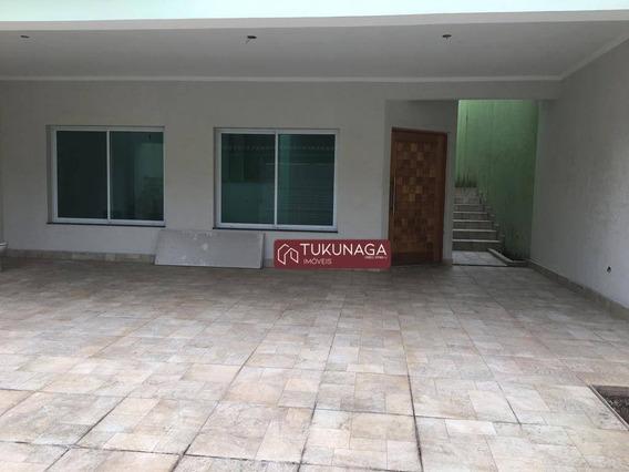 Sobrado Com 5 Dormitórios Para Alugar, 350 M² Por R$ 3.500,00/mês - Vila Galvão - Guarulhos/sp - So0849