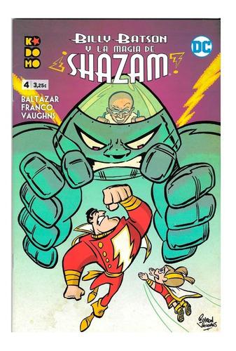 Imagen 1 de 3 de Billy Batson Y La Magia De Shazam #4 - Kodomo Ecc