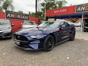 Ford Mustang Gt Premium 5.0 V8 Azul 2018