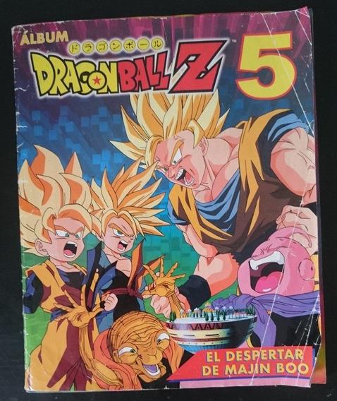 Álbum Dragon Ball Z 5 El Despertar De Majin Boo Faltan 12