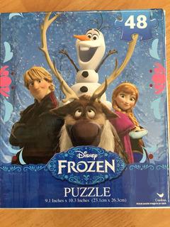 Rompecabezas De Frozen De 48 Piezas 23x26 Cms