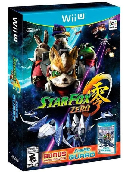 Star Fox Zero + Bonus Star Fox Guard Wii U Novo Mídia Física