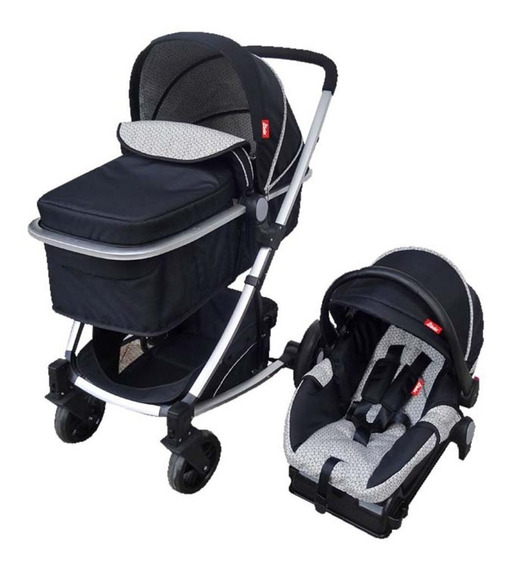 Carriola De Bebe Crown Portabebe Base De Carro Bambineto