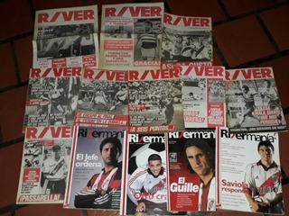 Revistas River Y Rivermania Lote De 14