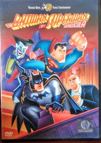 Dvd Original Batman Y Superman La Película Dc Warner 2006