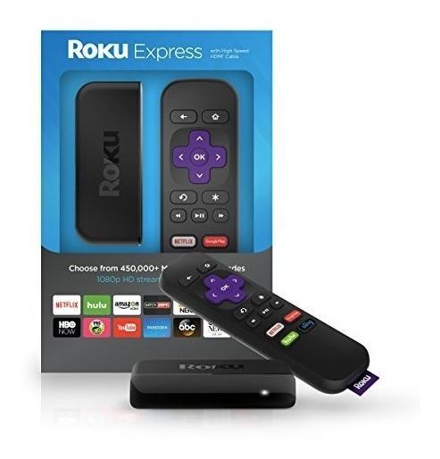 Roku Express Tv Streaming Netflix Youtube Con Puerto Hdmi