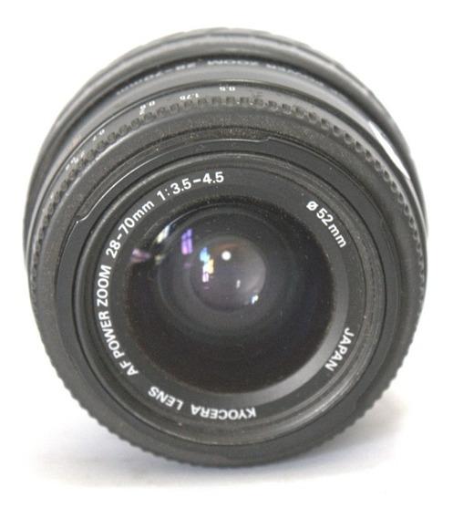 Lente Kyocera 28-70mm Japan Retro Coleção Retirada Peça