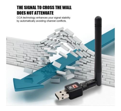 Tarjeta Nano Adaptador Receptor Usb Wifi 150 Mbps 802.11n Pc