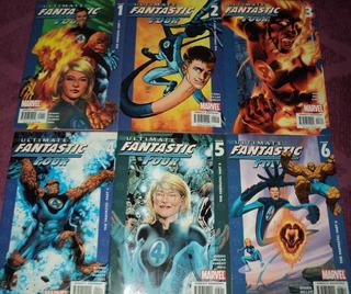 Ultimate Fantastic Four #1-12. Marvel. En Ingles.