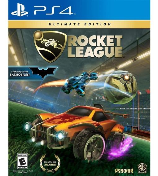 Rocket League Ultimate Edition Ps4 Mídia Física