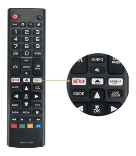 Control Remoto LG Smart Con Netflix Y Amazon