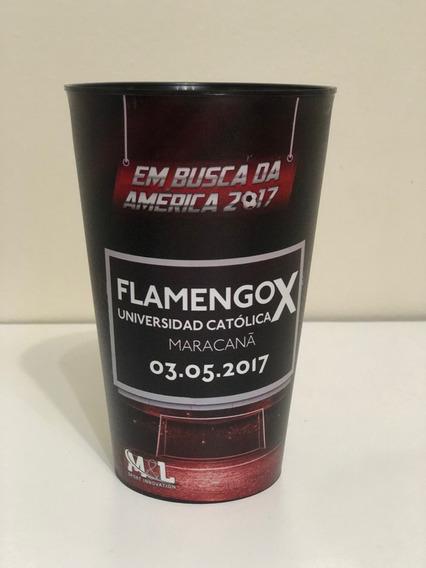 Copo Flamengo X Universidade Católica Libertadores 2017 Raro