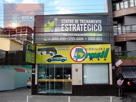 Prédio Comercial Para Locação Em Campos Dos Goytacazes - 8938