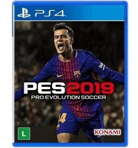 Pes 2019 Ps4 Mídia Física (semi Novo)