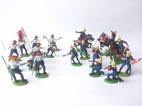 Soldados Norteamericanos ( Norteños Y Sureños )