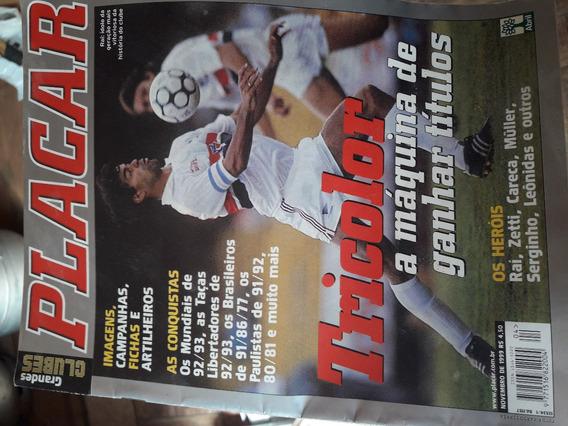 Revista Placar Grandes Clubes São Paulo