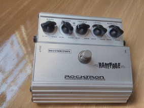 Pedal Rocktron Rampage Distortion (acompanha Fonte)