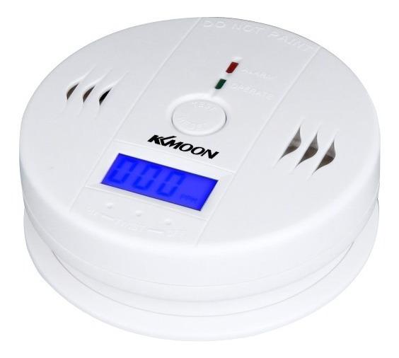 Alarme Monitor Sensor Envenenamento Do Monóxido Carbono Lcd