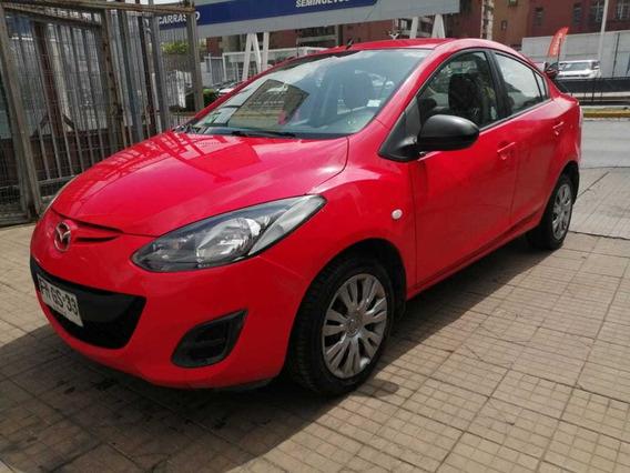 Mazda 2 2013 Sedan 1.5 Mt Full Aire Airbag Credito 20%pie