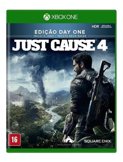 Just Cause 4 Edição Day One Xbox One Mídia Física Lacrado Rj