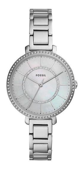Relógio Feminino Fossil Jocelyn Prata - Original