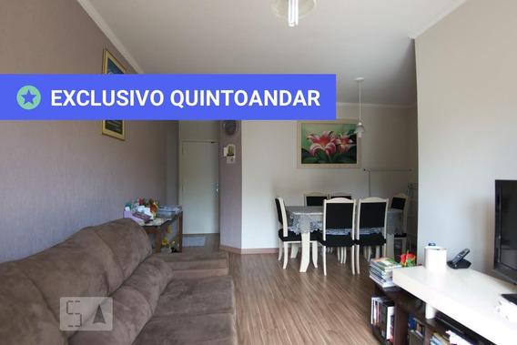 Apartamento No 4º Andar Mobiliado Com 2 Dormitórios E 1 Garagem - Id: 892982898 - 282898