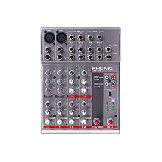 Consola Mixer Phonic Am105fx 6ch Phantom 2xlr 4st Efectos