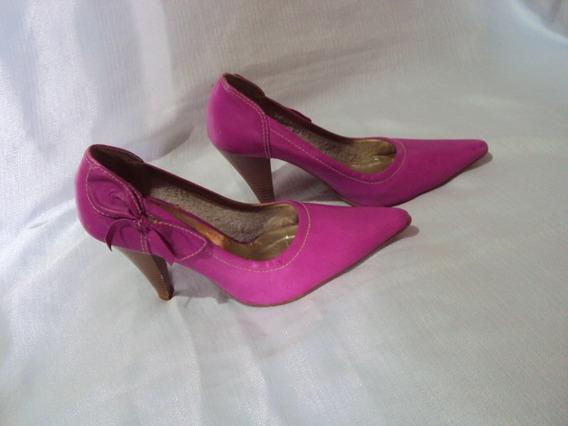 Sapato Rosa Feminino Marilia Calçados Tamanho 35