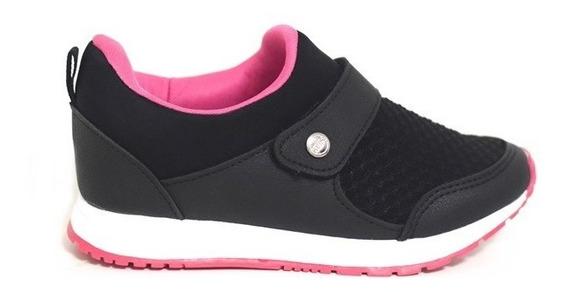 Tenis Klin Baby Walk Lycra Velcro 216041000