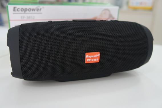 Caixa De Som Bluetooth Charge3 Ecopower - Estilo Jbl