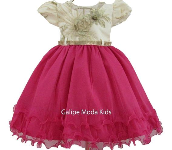 Vestido Infantil Barbie Gata Marie Marsha E Urso 1 Ao 3