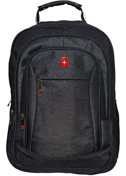 Mochila Executiva Swissland Notebook Preta Yins Ys28113