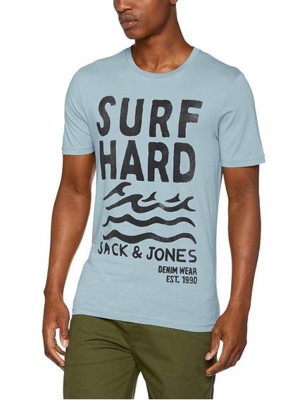 Playera Jack & Jones (jorfrancisco) Surf Hard