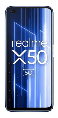 Imagen 1 de 4 de Realme X50 5G (48Mpx) Dual SIM 128 GB hielo plateado 6 GB RAM
